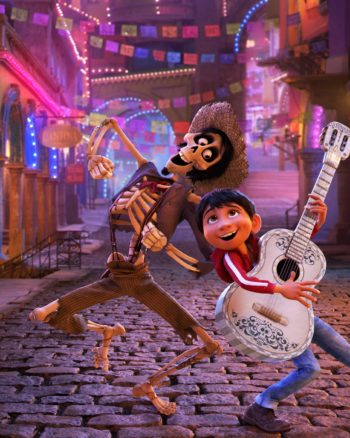 "In Disney•Pixar's ""Coco,"" Miguel's love of music ultimately leads him to the Land of the Dead where he teams up with charming trickster Hector."