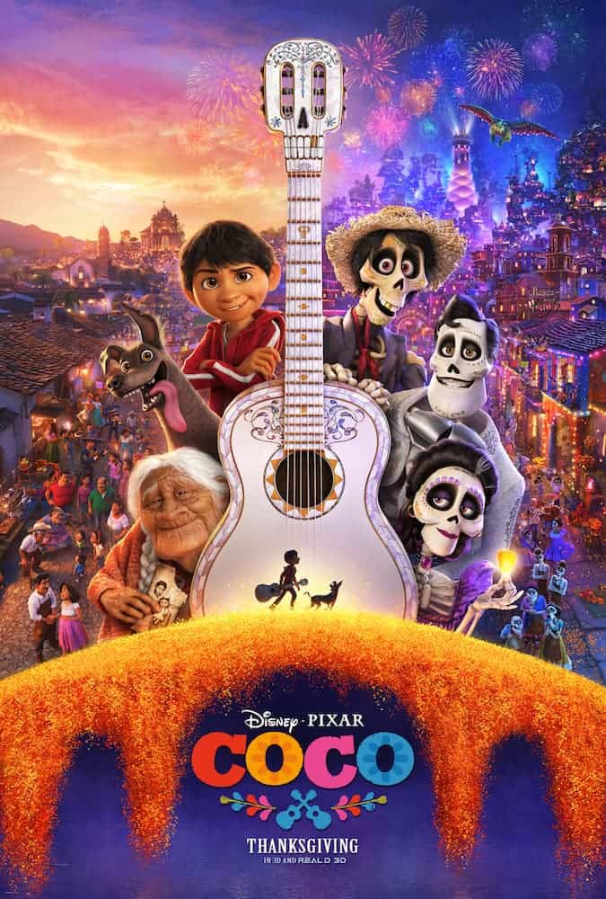 Disney Pixar's Coco movie opens in theaters Thanksgiving!