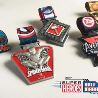 Have you seen the Avengers Half Marathon Weekend medals for runDisney? They're gorgeous!
