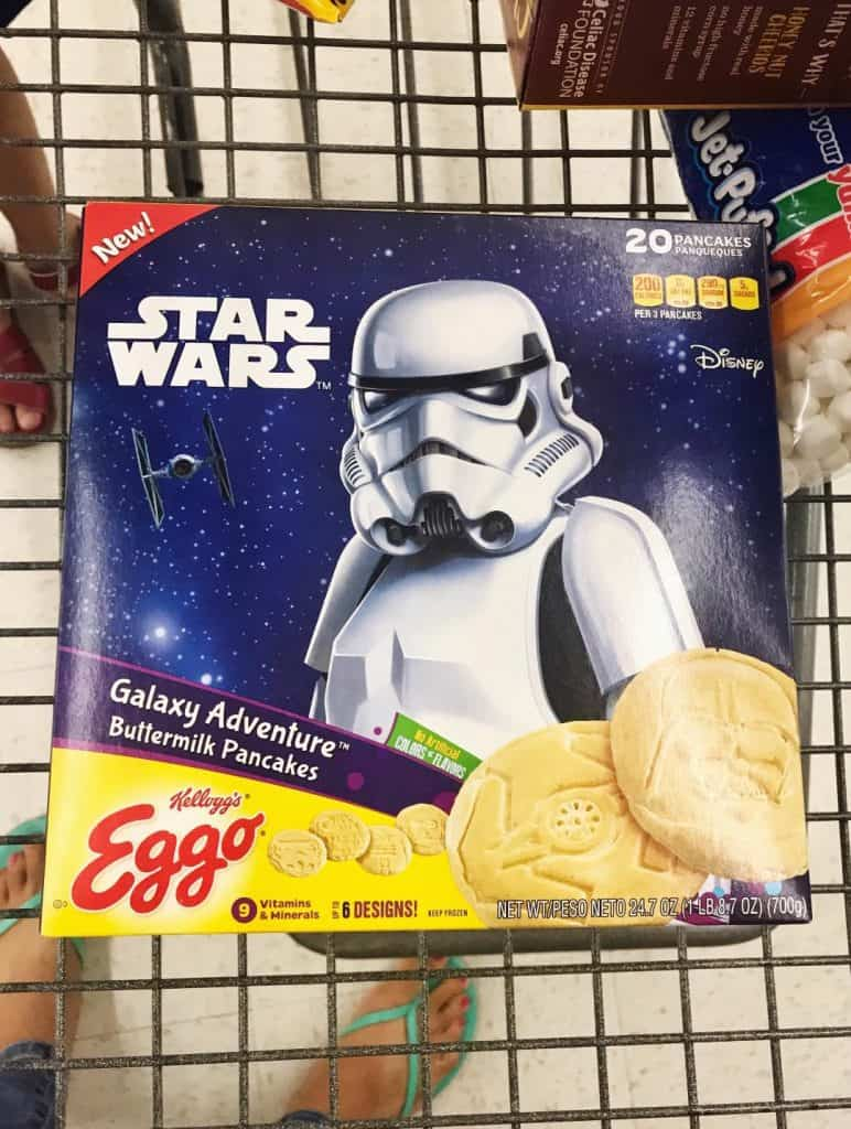 Pick up at your Eggo Star Wars Pancakes at your local Walmart!
