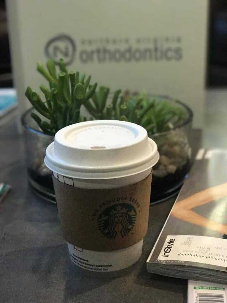 When you're a patient at Northern Virginia Orthodontics, you get free Starbucks!