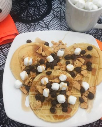Come to the Dark Side with S'mores Star Wars Pancakes