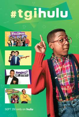 Watch and stream all your favorite TV shows from the 90's on Hulu with TGIHulu!