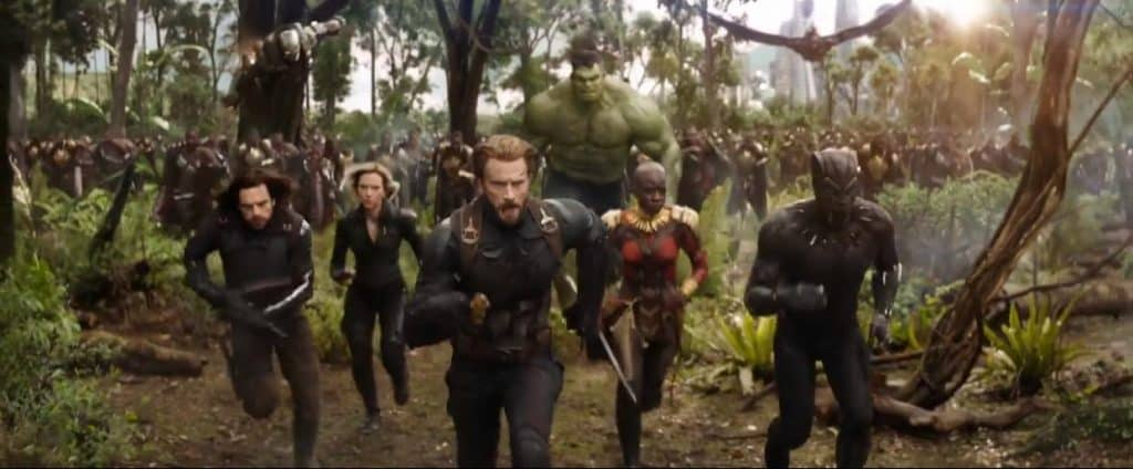 Let's discuss a bearded Captain America in the new Avengers: Infinity War trailer, please.