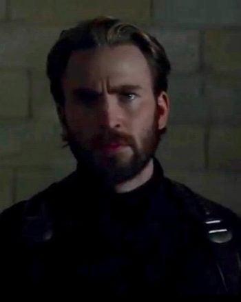 Let's Discuss Bearded Captain America   Avengers: Infinity War Trailer