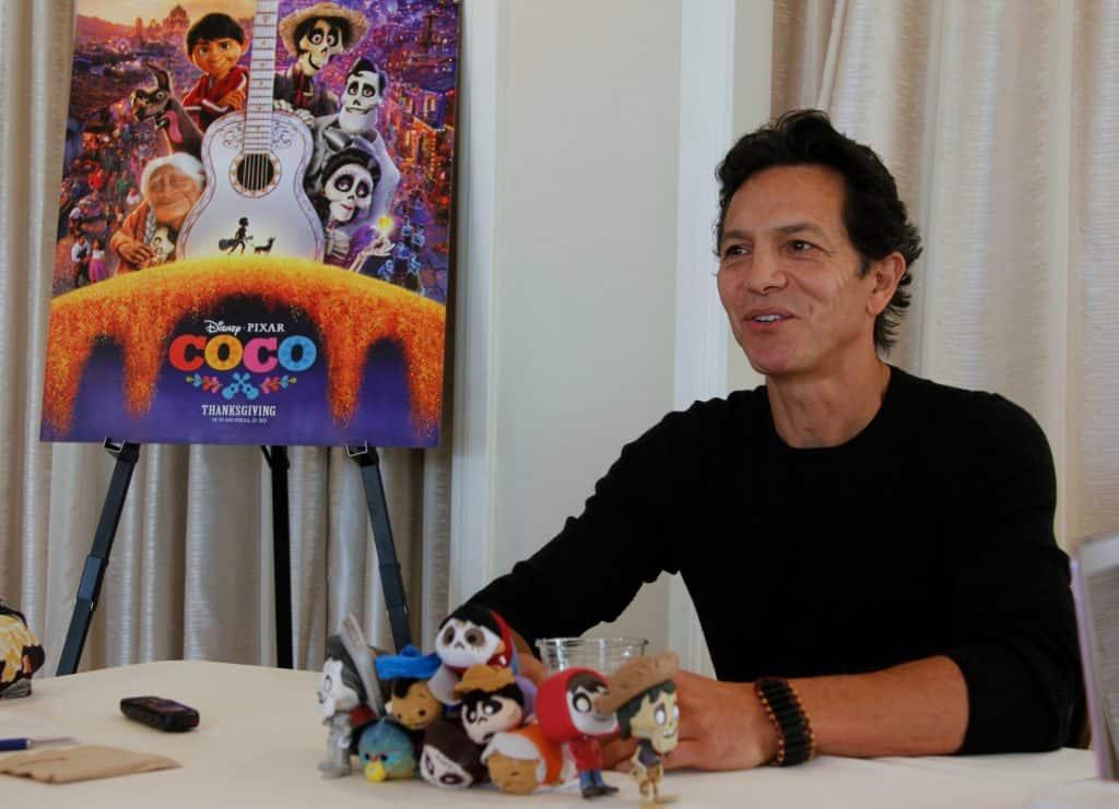 Exclusive Interview with Benjamin Bratt who voices Ernesto de la Cruz in the movie Coco.