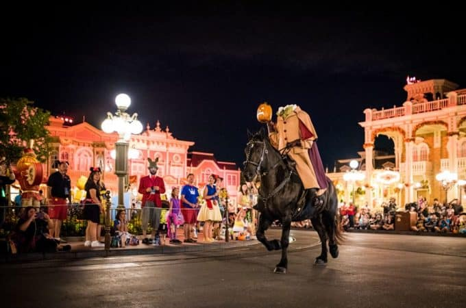 With so many things to do at Mickey's Not So Scary Halloween Party, the Boo to Your Parade tops the list!