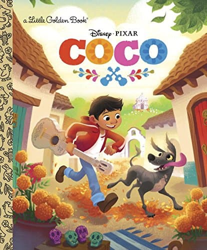 The best Coco gifts for little ones are the Little Golden Books. Perfect for little readers.