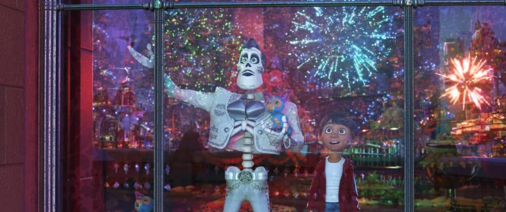 Check out the vibrant colors and imagery in the Land of the Dead in a Coco Spoiler Free Review!