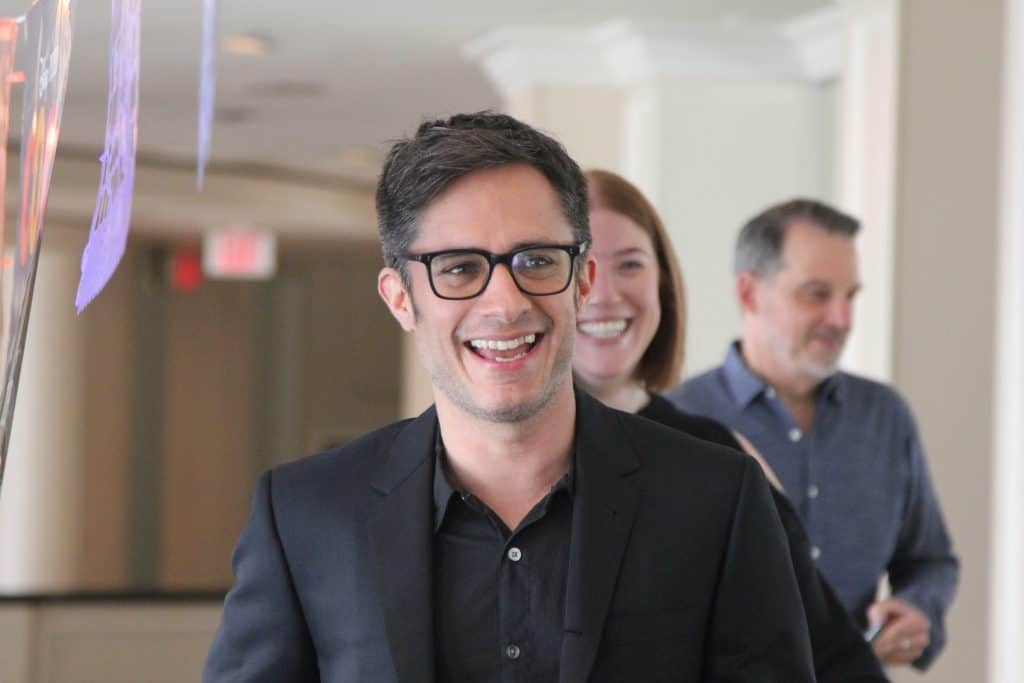 Gael Garcia Bernal voices Hector in Disney Pixar's Coco.