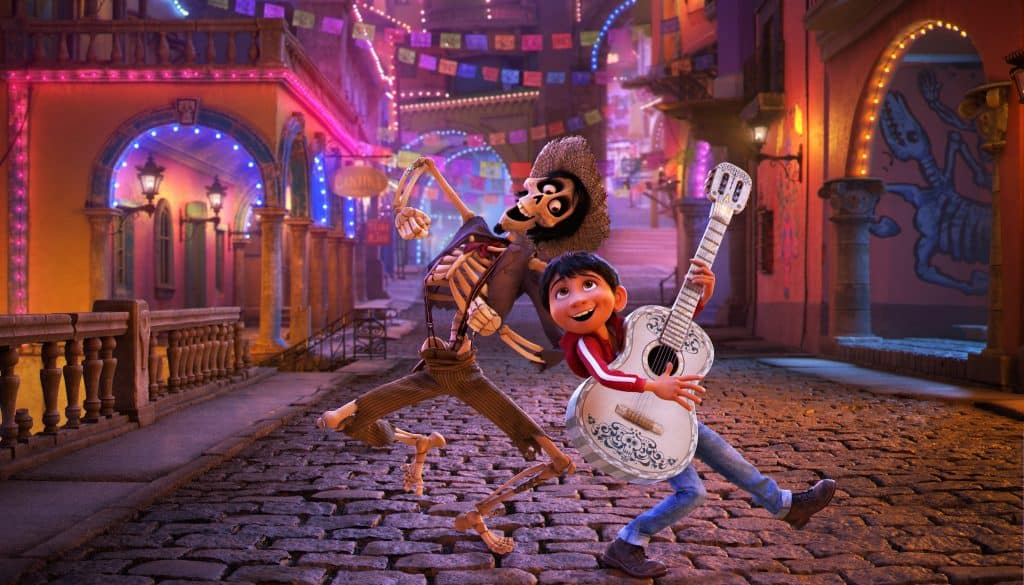 Check out Gael Garcia Bernal's pipes as Hector in Disney Pixar's COCO!