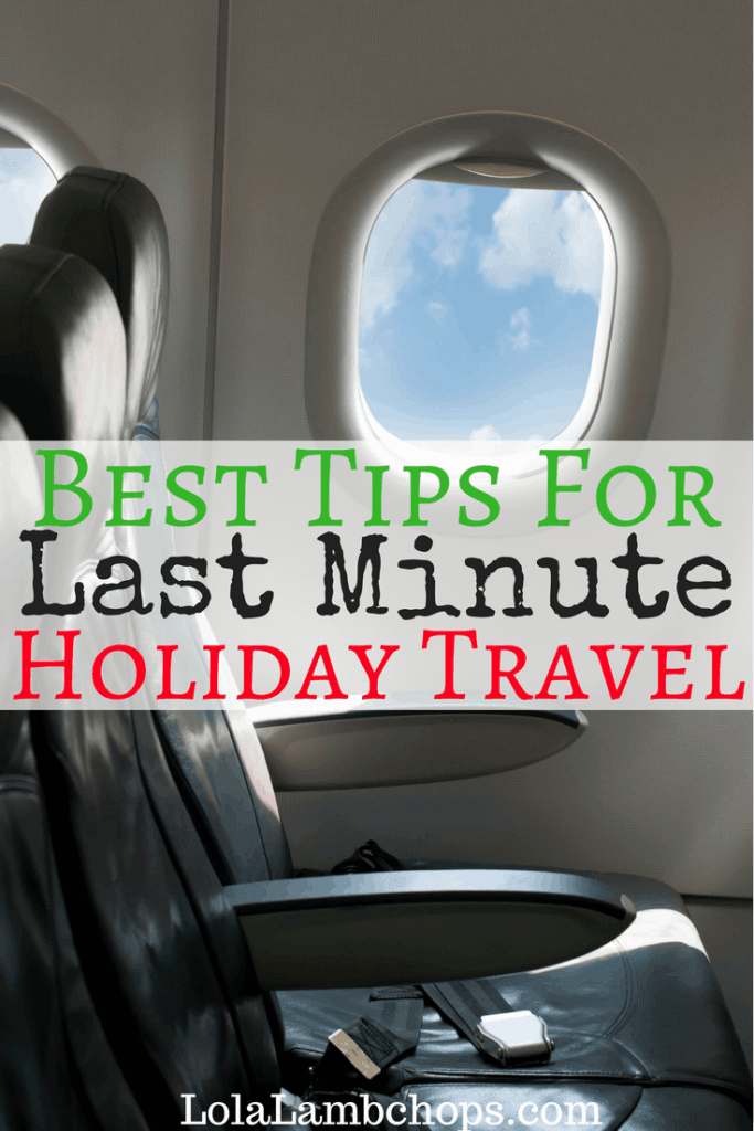 Best tips for last minute travel or holiday travel! Traveling during the holidays can be stressful, but I was able to make it cross country with my family of 7 in less than 24 hours for Thanksgiving at an affordable price. Read my travel and why being home for the holidays is important to my family.