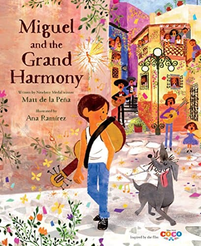 Miguel and the Grand Harmony Book - great for kids and adults!
