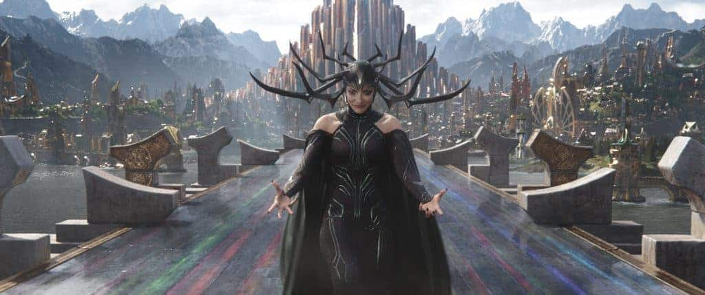 Is Thor: Ragnarok family friendly with Hela as one of the baddest villains Marvel has seen.
