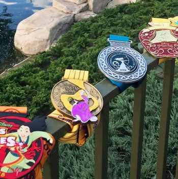 All 5 2018 Princess Half Marathon Medals revealed!