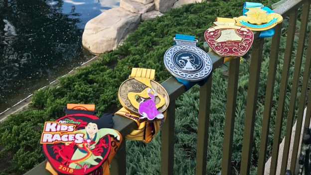 All 5 2018 Princess Half Marathon Medals revealed!