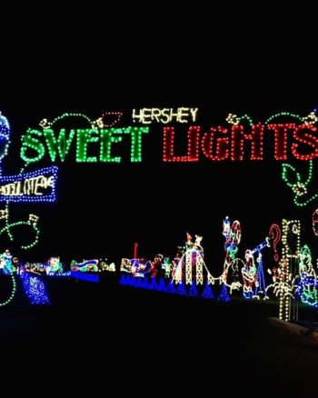 If you want even more holiday lights, then check out Hershey Sweet Lights!