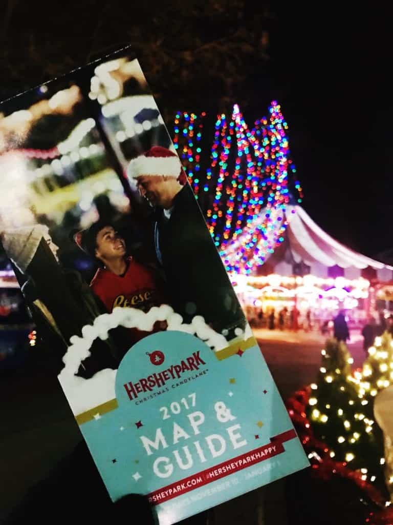 hersheypark christmas candylane is the best activity when you visit hersheypark in the winter