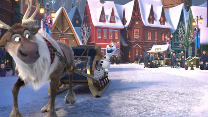 Now you can watch Olaf's Frozen Adventure on television on Thursday, December 14th on ABC!