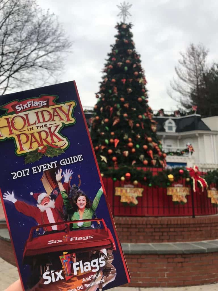 Check out our 2017 Six Flags Holiday in the Park review!