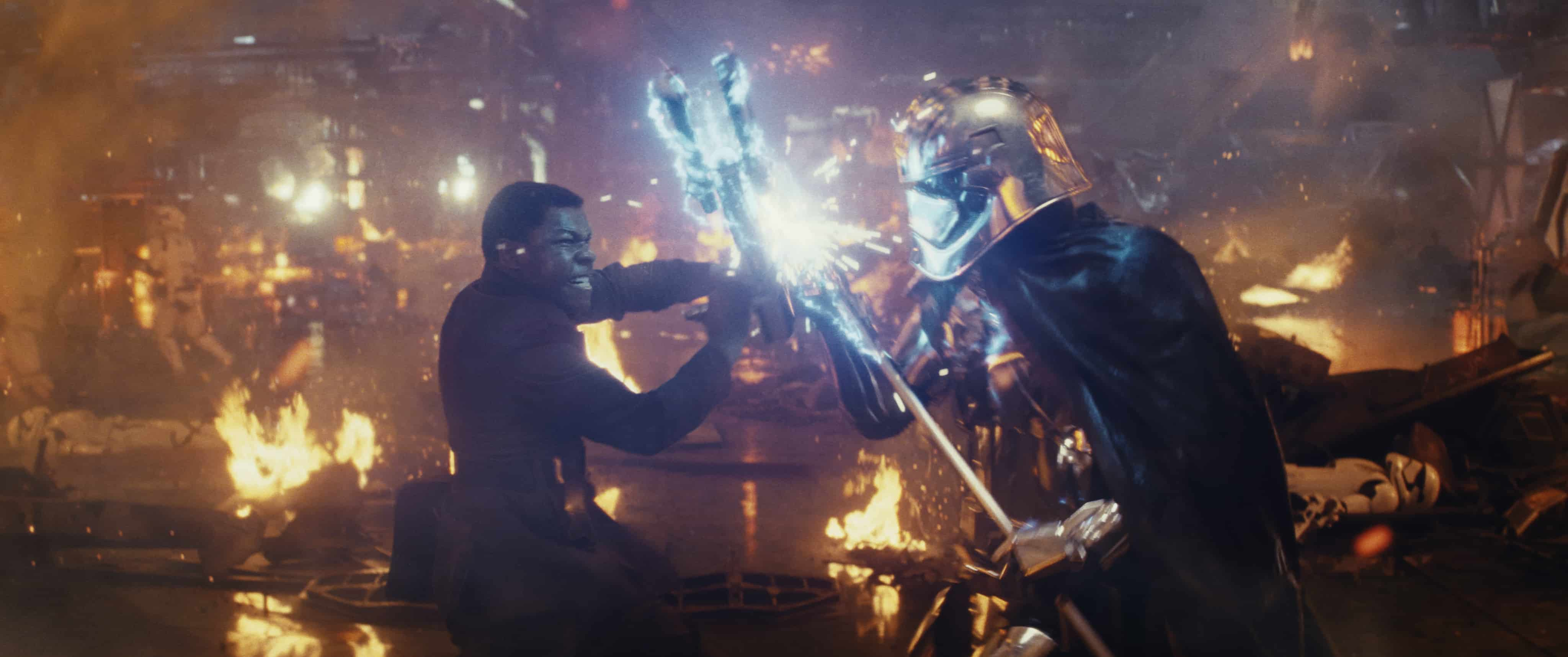 Is Star Wars: The Last Jedi Kid friendly? Fight scenes may be too much.