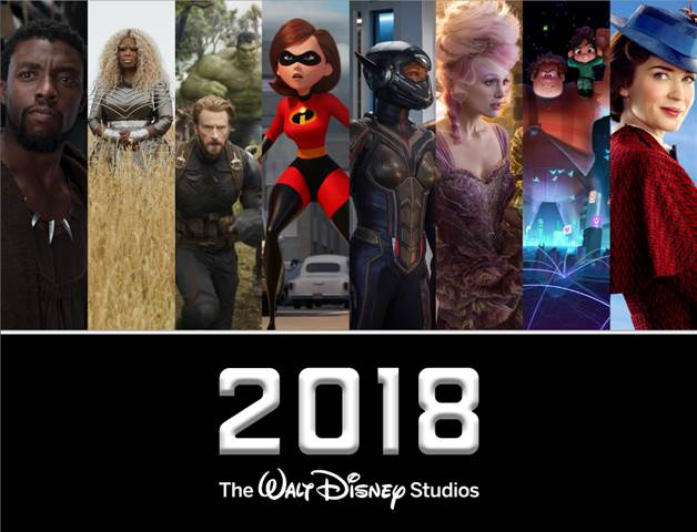 Check out the 2018 release date for Disney movies! This year's going to be a good one!