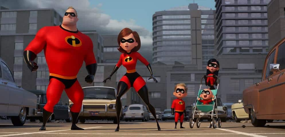 Incredibles 2 is part of the 2018 Disney Movie slate. It's in theaters June 2018.
