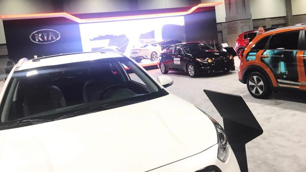 Check out the Kia fleet at the Washington Auto Show.