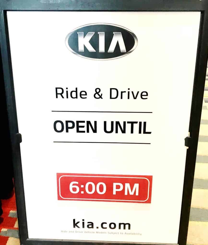 Find the Kia Ride and Drive booth in the East Salon at the Washington Auto Show.