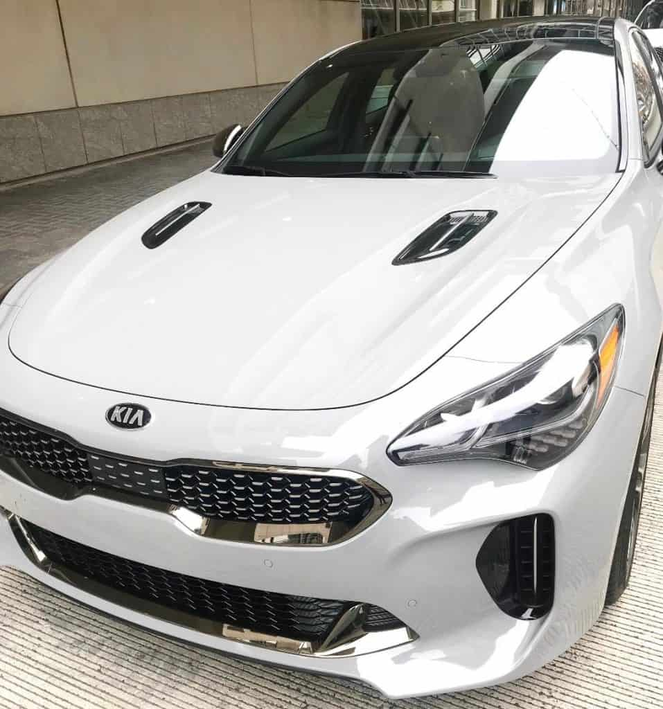 Try driving the Kia Stinger at the Kia Ride and Drive. It is one hot car!