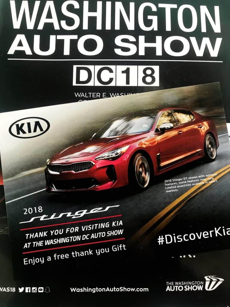 Check out the Kia Ride and Drive at the Washington Auto Show.