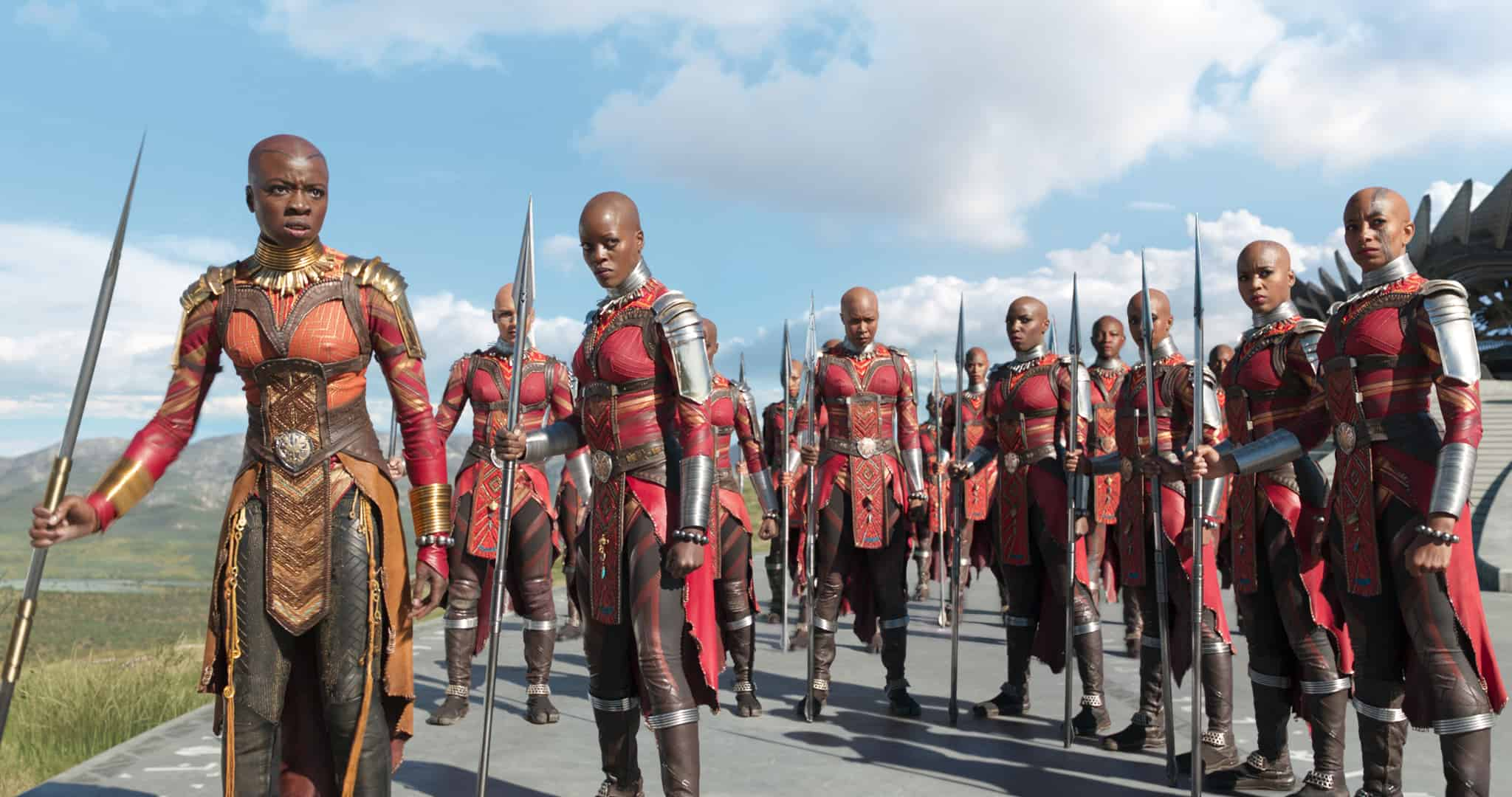 The Dora Milaje are the bodyguards of Black Panther - a must-see of girls everywhere.
