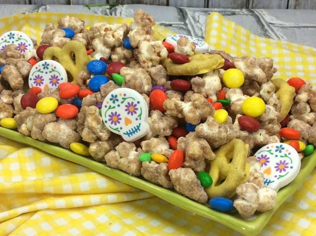Throw a Coco Party or Coco Movie Night with this Coco Party Popcorn Recipe!