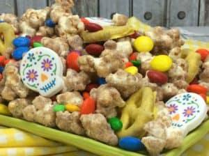 Coco Party Churro Popcorn Recipe