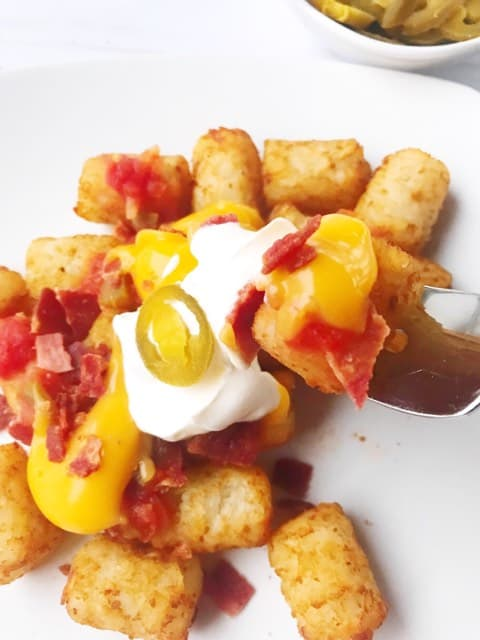 Every bite of this Disney Totchos Recipe will have your family cheering!