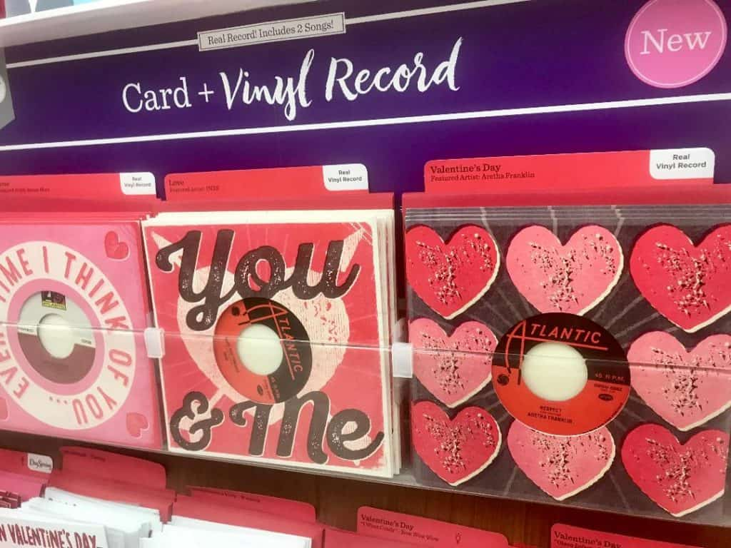 Hallmark Signature Cards have stepped up their game with cards with vinyl records inside!