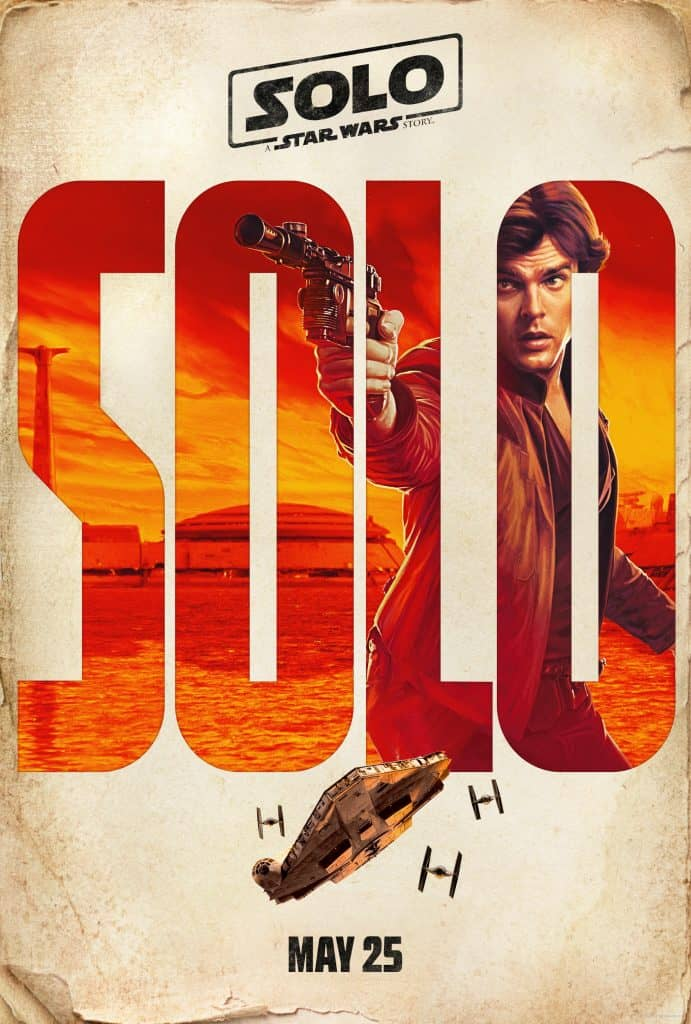Have you seen the new Solo Movie Posters with Han Solo?