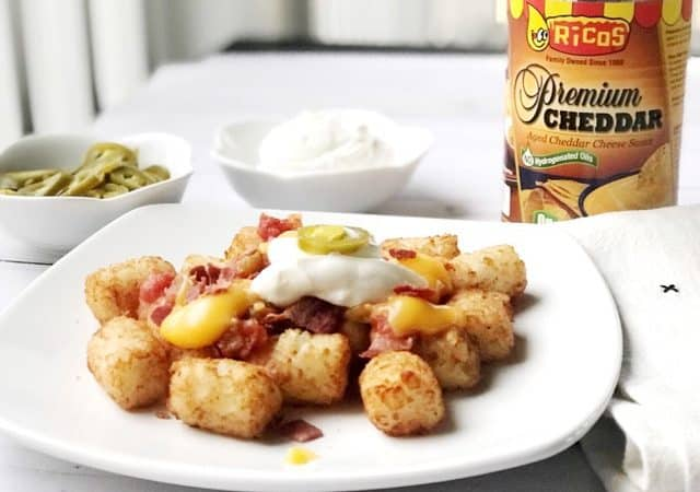 Try making totchos for your next party or gathering! They're the perfect appetizer!