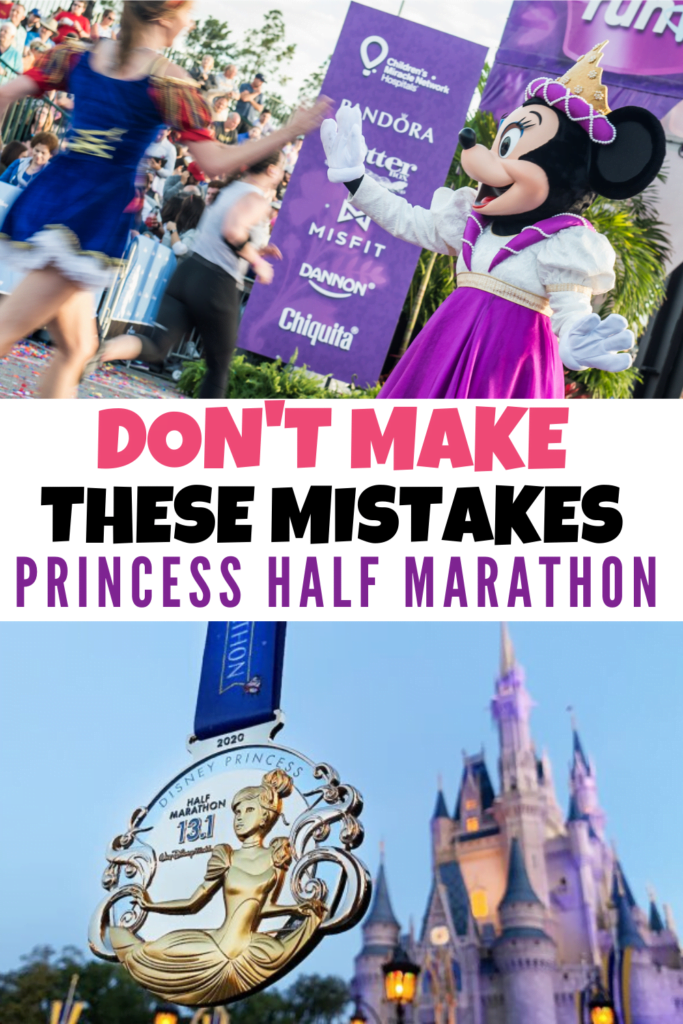 Princess Half Marathon Mistakes