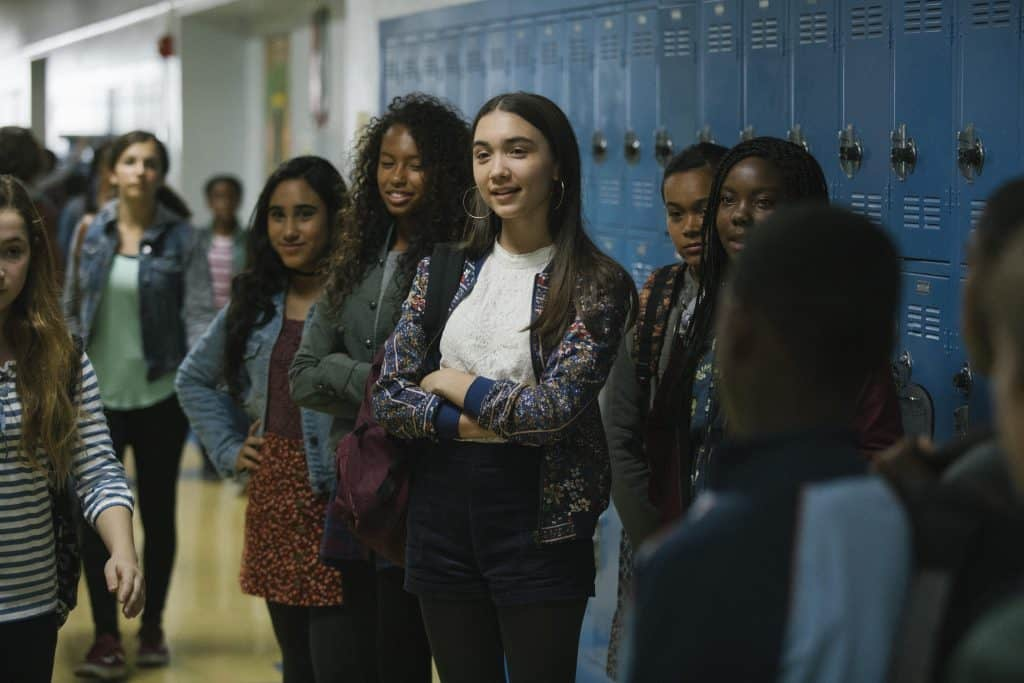Rowan Blanchard stars in A Wrinkle in Time Movie making it interesting for middle schoolers or fans of Girl Meets World.