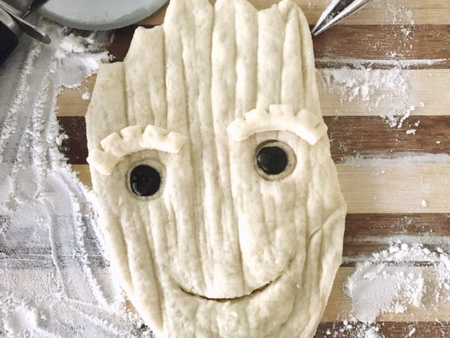 How to make Teen Groot Bread!