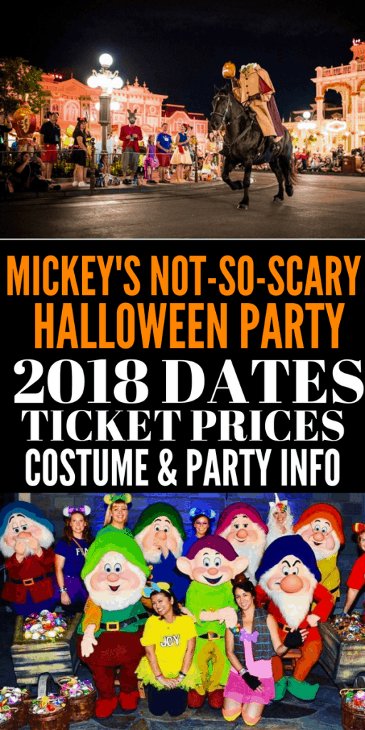 Disney World Halloween Costume Rules