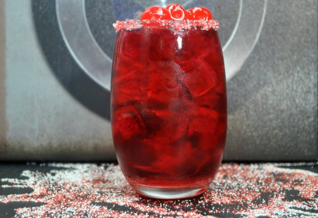 Captain America Drink Recipe for Marvel parties