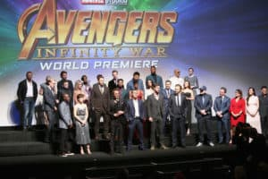 My Night with the Avengers | Avengers Infinity War Premiere Pictures
