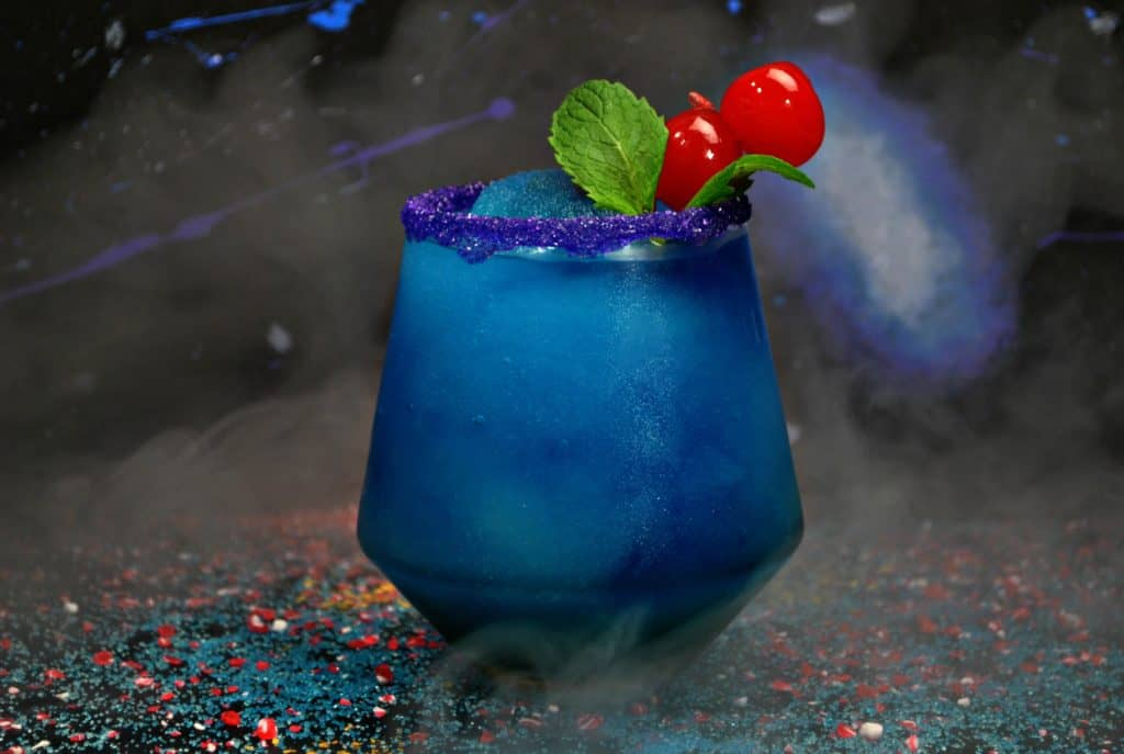 Make this Black Panther drink recipe for your next Avengers: Endgame party.