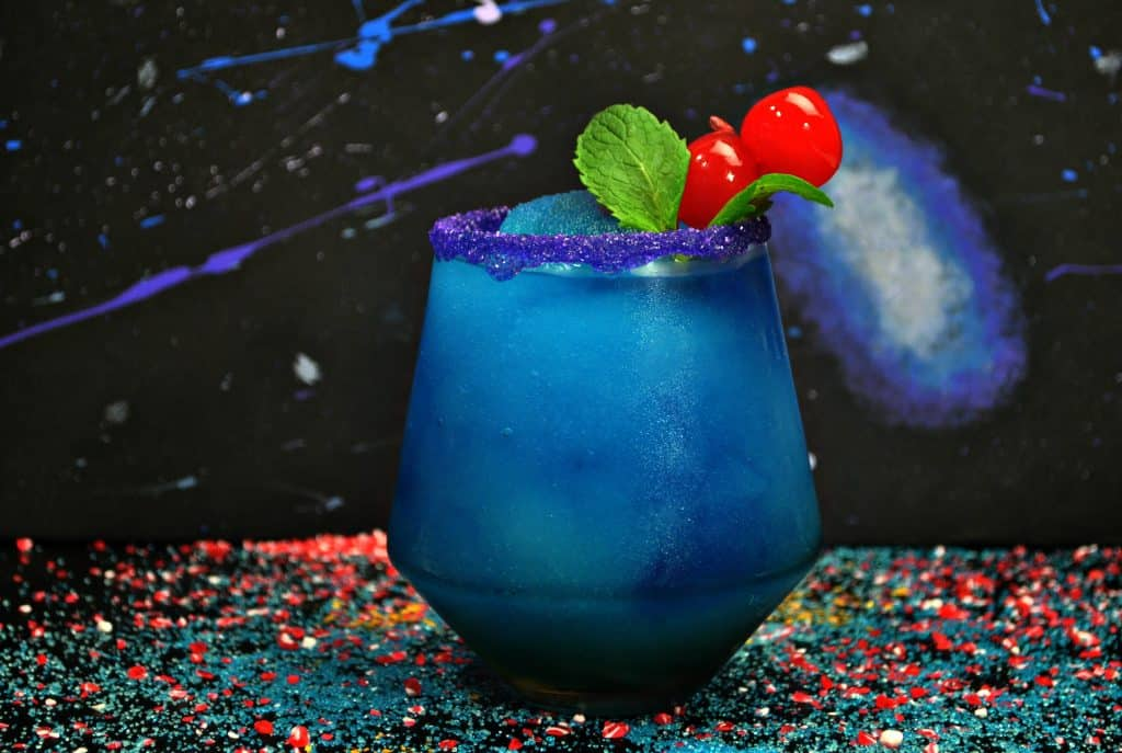 Here's a Black Panther Frozen Drink Recipe for all my fellow Black Panther movie fans!