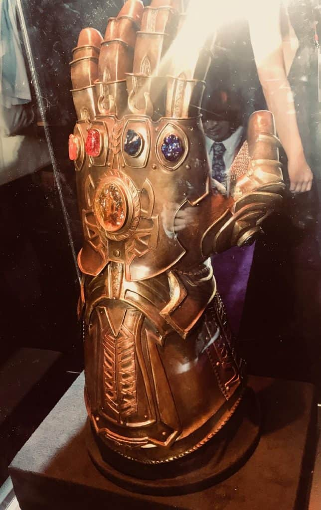 Infinity Gauntlet at the Avengers Infinity War Premiere