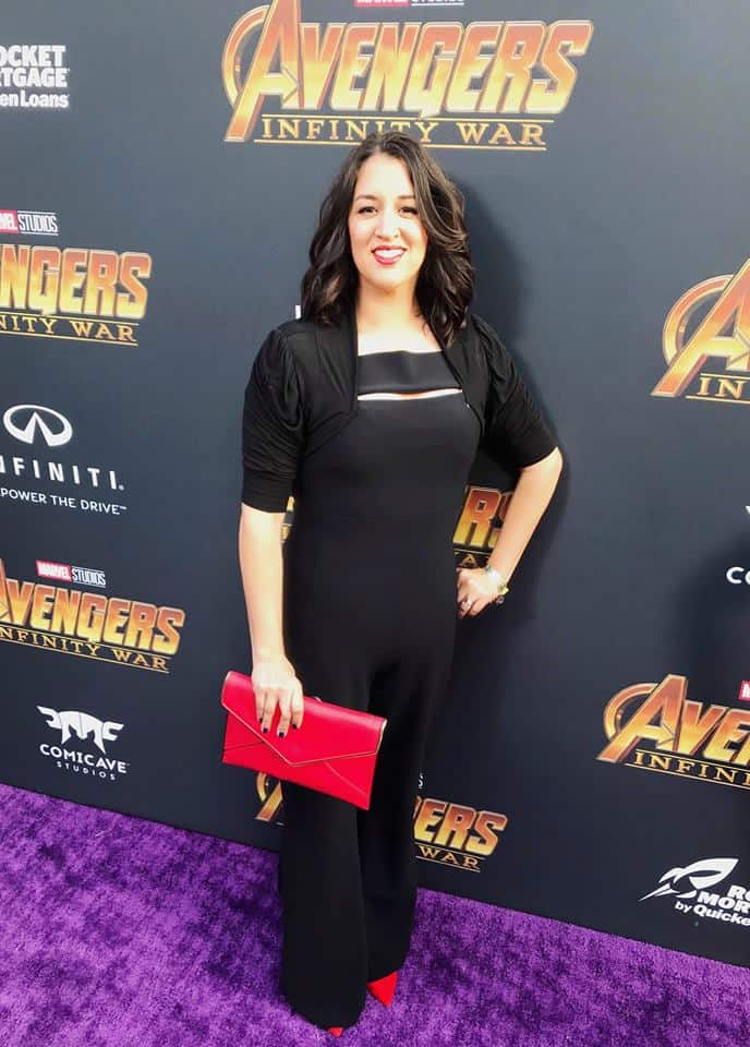 My night with the Avengers at Avengers: Infinity War premiere.