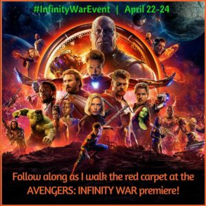 I'm Going to the Avengers Infinity War Red Carpet Premiere!