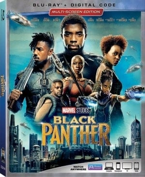 Black Panther is on Blu-ray on May 15th!